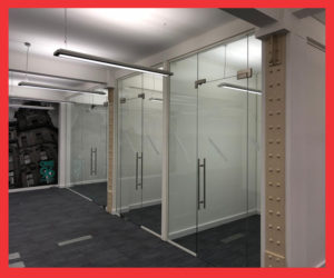 Glass Office Partitions In Manchester